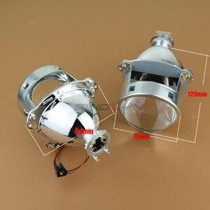 Image 3 - Sinolyn projecteur phares lentilles bi xénon 3.0 pouces lentille H7 H4 métal H1 Super HID voiture lumière accessoire Tuning Automobiles partie