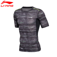 Li Ning Men S Training T Shirt Breathable Sport Tee Tops AT DRY 88 Polyester 12
