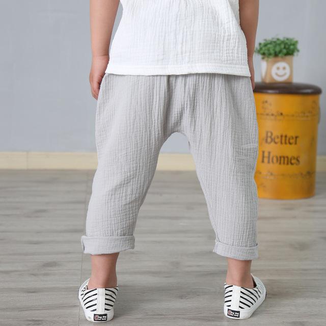 Linen Harlem Pants