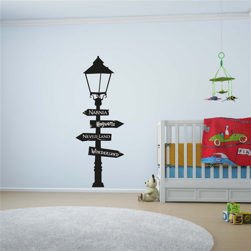 Harry potter light wall decal sticker wall art children - Childrens bedroom wall stickers removable ...