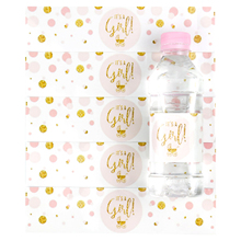 12pcs It's A Girl/boy Decoration Mineral Water Bottle Gift Stickers Label Baby Shower Birthday Party Bottle Label Stickers new 12pcs baby shower decorations girl mineral water bottle label unicorn bottle stickers birthday party supplies