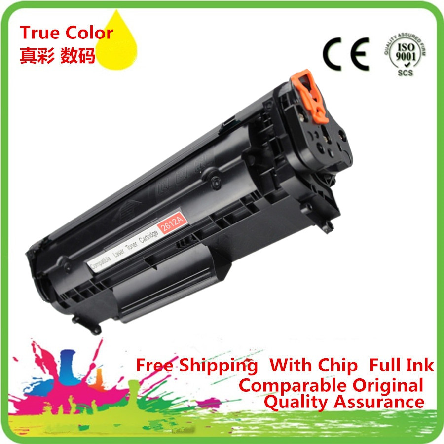 Toner Cartridge Q2612A Q2612 2612A 12A 2612 Refillable Replacement For HP Laserjet 1010 1020 1015 1012 3015 3020 3030 3050