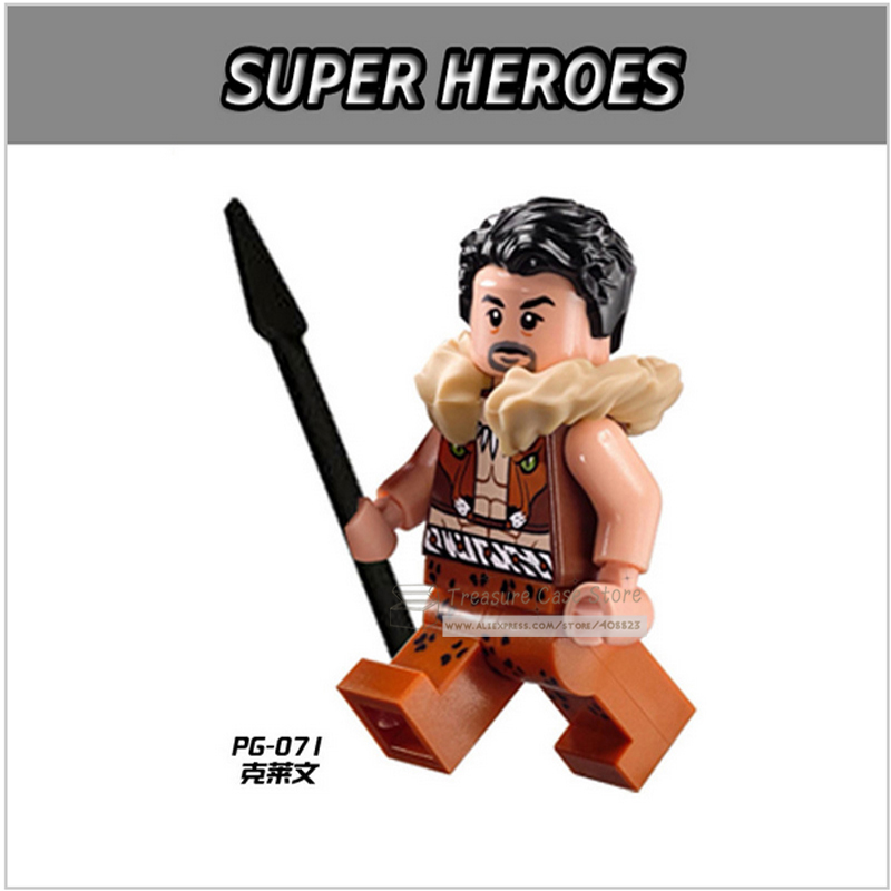 PG071 Kraven The Hunter Figure Super Hero Building Toys Blocks