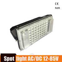 Ultrathin LED Flood Light 12 Volt Waterproof IP65 50w AC/DC12-85v Foco Led Exterior Projecteur Led Exterieur Outdoor Floodlight