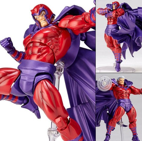 NEW hot 21cm Max Eisenhardt X-Men Magnus Magneto Action figure toys collection doll Christmas with box new hot 21cm black butler under taker action figure toys collection christmas gift doll with box