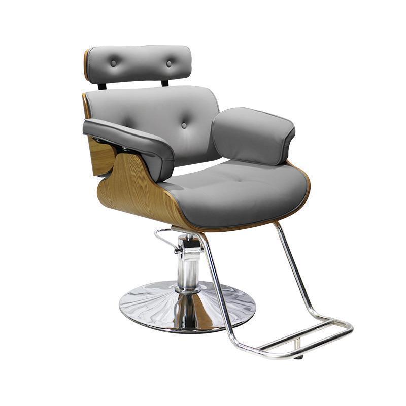 Image 4 - Barbero Mueble Furniture Cadeira De Cabeleireiro Makeup Kappersstoelen Stuhl Hairdresser Salon Barbearia Shop Silla Barber Chair-in Barber Chairs from Furniture