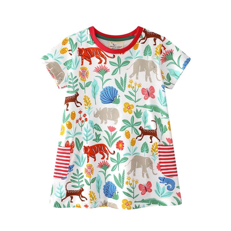 Mutter & Kinder Mädchen Boutique Kleid Kleidung Kinder Kinder Minnie Kleid Mädchen Sommer Kurzarm Kleid Kleidung Kinder Weiße Milch Seidenkleid