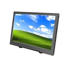 "13.3 ""Portatile Monitor Del Computer PC 1920x1080 HDMI PS3 PS4 Xbox360 1080P IPS LCD Display A LED Monitor per Raspberry Pi 3 B 2B"