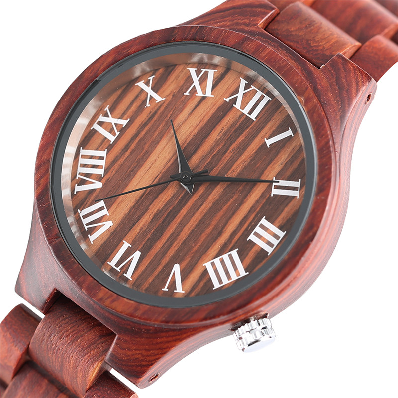 Fashionable Women Casual Maple Watches Ladies Special Full Wooden Quartz-watch Handmade Female Clock Fold Clasp with Gift Bag sihaixin small wood watch women wristwatches with genuine leather bamboo wooden watch ladies casual quartz female best clock de