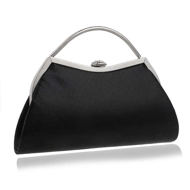 Simple Design Mixed 5 Color With Handle Evening Bags Shell Shaped Chain Shoulder Messenger Handbags For Party Evening Bag