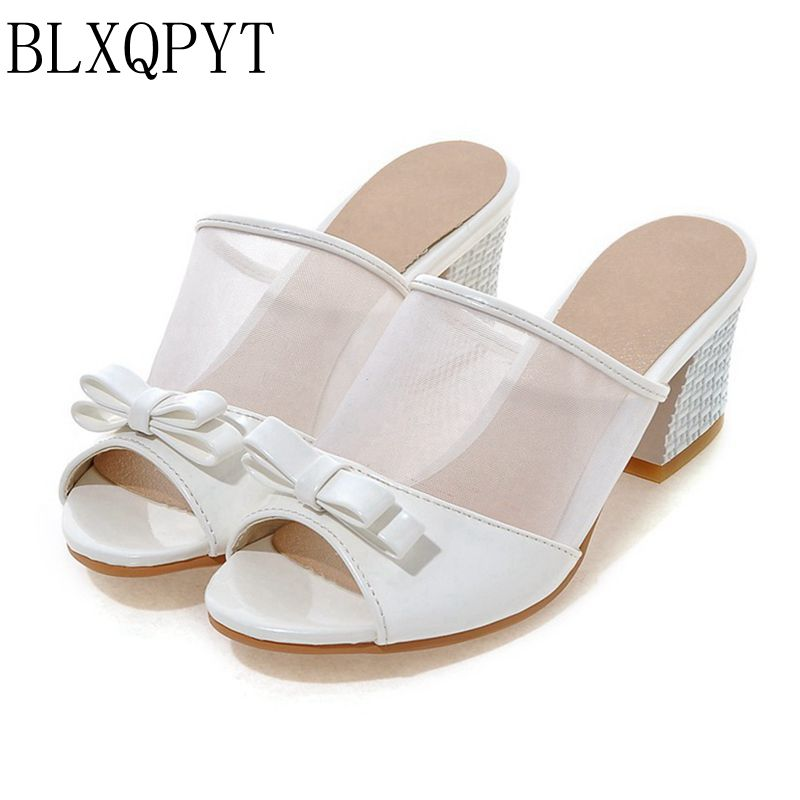 2018 Sandalias Mujer Sapato Feminino  Big Size 30 45 46 47 48 Summer Style Women Shoes Casual Home Beach Sandals Slippers 8077-1