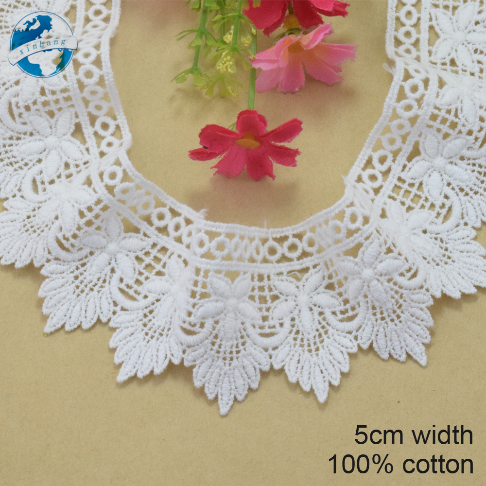 "laverslace Beautiful Bright Red Nottingham Flat Lace trim 2/""//5cm"