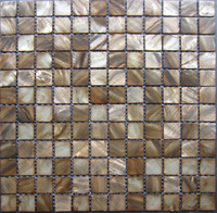 Mosaic Tiles Coffee Dark Brown Kitchen Tile Backsplash Mother Of Pearl Tiles Shell Mosaics Bathroom Wall