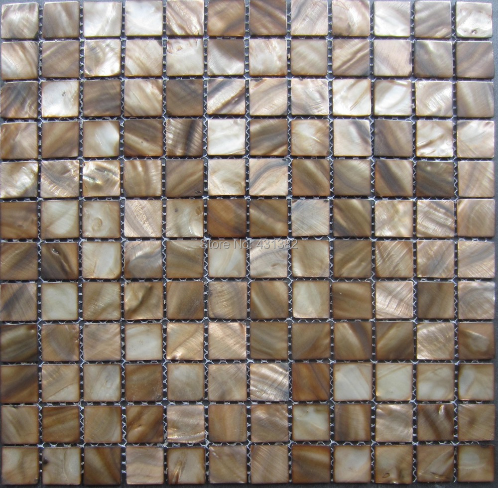 Popular Brown Mother of Pearl Tiles-Buy Cheap Brown Mother of ...