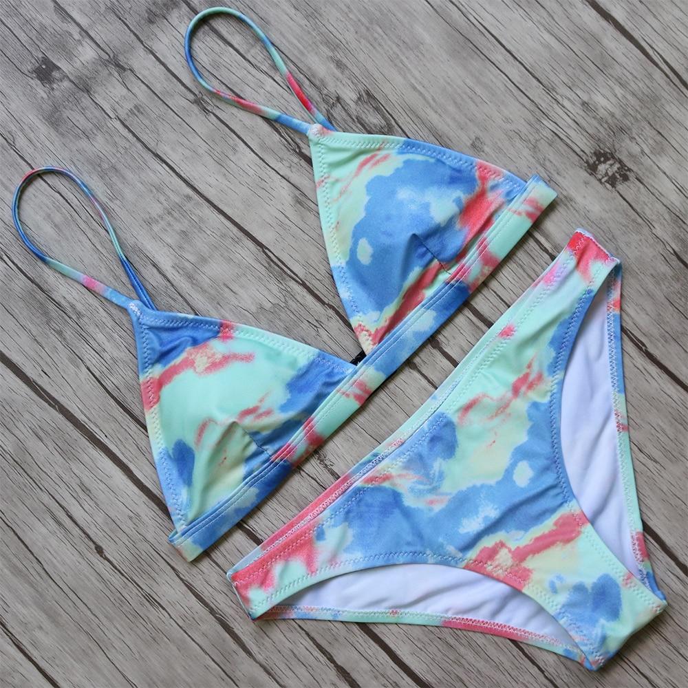Bikini 2018 Bikinis Set Women Sexy Swimsuit Swimwear Brazilian Biquini Bandage Push Up Swimwear Female Beachwear Bathing Suit  3