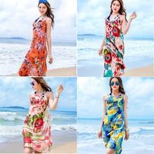 New Beach Cover Up Bikini Chiffon Breathable Beachwear Summer Swimsuit Sexy See through Beach Dress saida de praia napeo