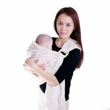 tali handuk bayi kembali multi-fungsional Handuk Bayi Horisontal Tahan Ransel Bayi Portabel Kain katun Bahan dua Cincin Ayunan