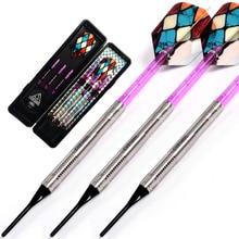 CUESOUL Swords Series 18 Grams 95% Tungsten Soft Tip Darts Set 012 cuesoul 18 grams soft tip tungsten darts 85
