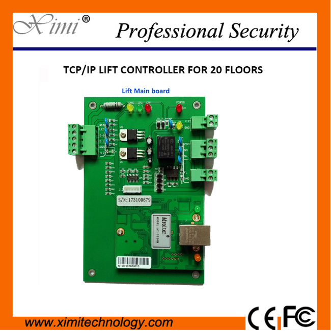 New Arrival Control 20 Floors Wiegand Reader Tcp/Ip Elevator Control Board System Residential Elevator Control Panel