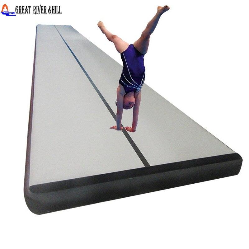 5 м гимнастика воздуха трек рампы Tumbl воздуха трек с Бесплатная Электрический насос с Великие реки Хилл Марка
