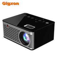 Gigxon G200 Mini LED Pocket Projector Home Beamer Game Movie USB HDMI Video Portable Projector Max 1080P Support