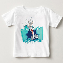 2018 Hot High Quality Cotton boy tshirt Looney Tunes Tweety Bird Sweet Life Funny Shirt for men kids Pure cotton 3T-8T MJ