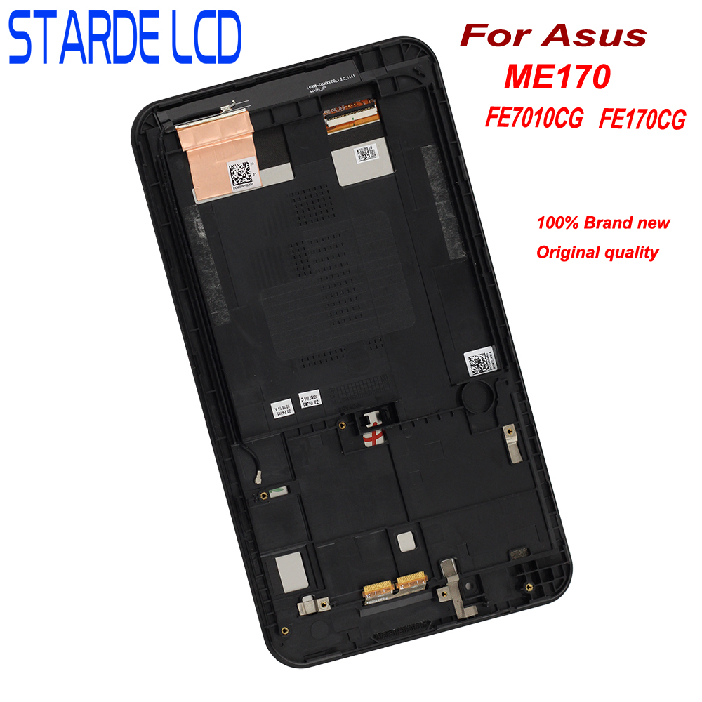 For 7 Asus MeMO Pad 7 FE7010CG FE170CG ME170C ME170 K012 K017 LCD Display Touch Screen