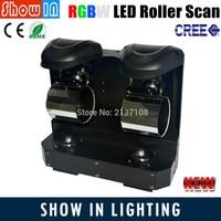 20 Вт RGBW 4IN1 110 В 230 В CREE светодиодный Disco ролик сканирования DMX DJ вечерние свадебные сценического оборудования проектор Бесплатная доставка