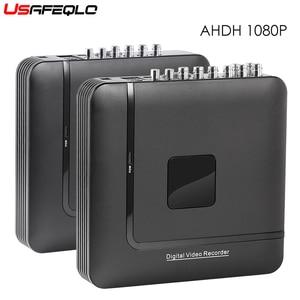 Image 1 - 4 Channel 8 Channel AHD DVR AHDH 1080P Security CCTV DVR 4CH 8CH Mini Hybrid HDMI DVR Support IP/Analog/AHD Camera 3G Wifi