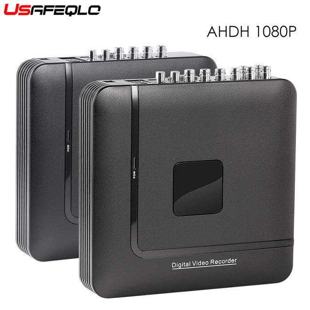 4 Channel 8 Channel AHD DVR AHDH 1080P Security CCTV DVR 4CH 8CH Mini Hybrid HDMI DVR Support IP/Analog/AHD Camera 3G Wifi