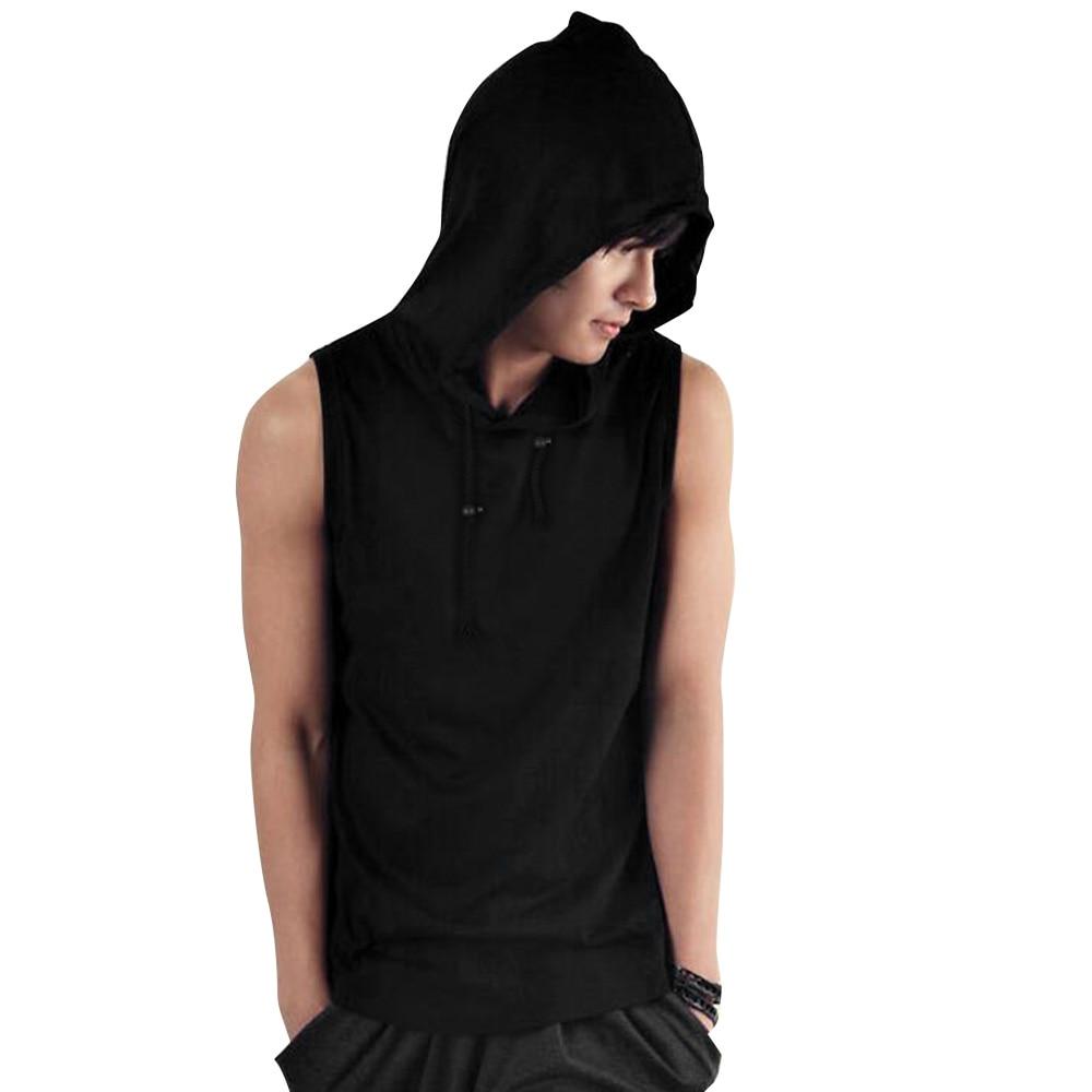 Cheap sleeveless hoodie