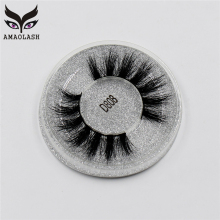 AMAOLASH Mink Lashes 3D Mink False Eyelashes Cruelty free Natural handmade Mink Eye lashes