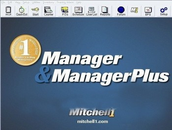 Mitchell Manager Plus 5.9 with 2013 year 2.39GB mitchell manager + auto software in cd фото