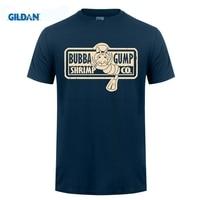 GILDAN Men T Shirt Bubba Gump Shrimp Co 100 Cotton Top Men Short Sleeve Plus Size