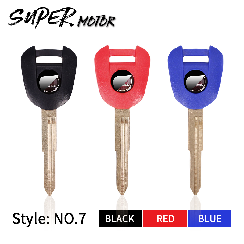 Brand New Motorcycle KEYS Replacement Key Uncut For HONDA CBR600RR F5 CBR1000RR CBR900 919 929 954 F4I CBR600 CBR1000 The New