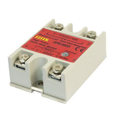 40Amp Single Phase Solid Module State Relays HPR-40DD w Base