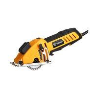 Mini Circular Saw Power T with Laser, 4 Blades, Dust passage, Allen key, Auxiliary handle, BMC BOX Depth 0~28.5mm