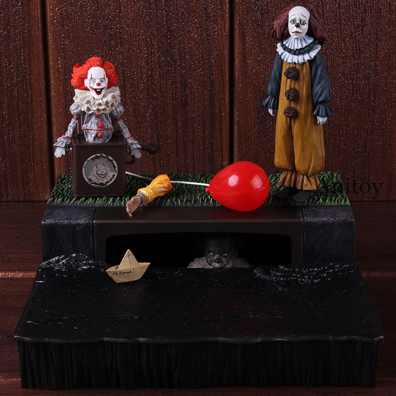 NECA Stephen King's It Pennywise Accessory Set PVC The Clown Pennywise Action Figure Collectible Model Toy 1