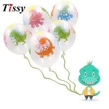 20PCS / Lot 12inch Dinosaur Ballonger Latex Ballonger Party Favoriter Baby Shower Decorations Födelsedagsfest Tillbehör Barn Leksaker Presenter