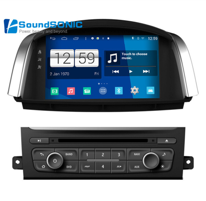 android car multimedia stereo for renault koleos radio cd dvd player gps navigation audio video. Black Bedroom Furniture Sets. Home Design Ideas