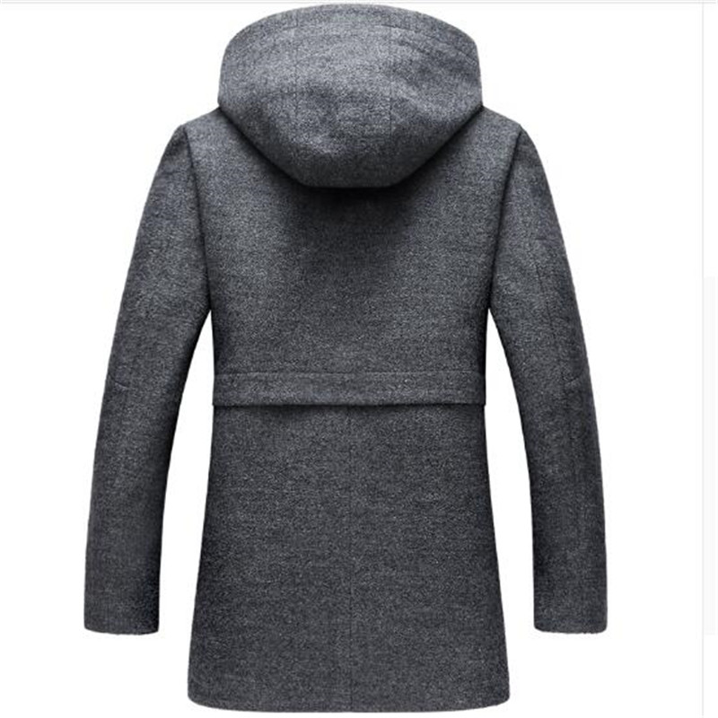Eurasia New Full Solid 2019 Women's Mid long Winter Jacket Stand Collar Hood Design Oversize Real fur Thick Coat Parka Y170027 - 2
