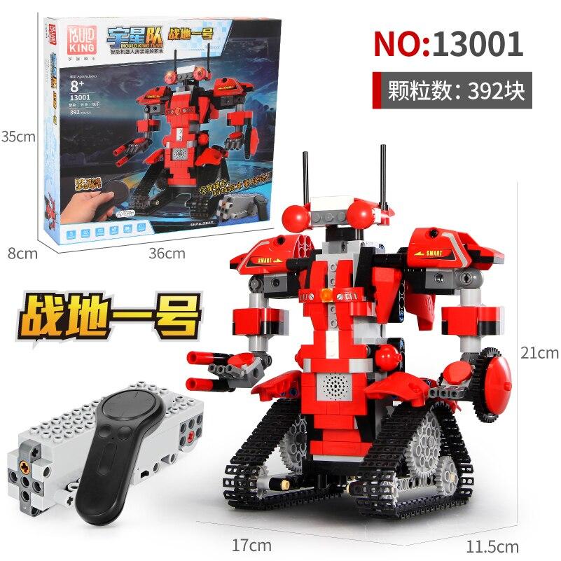 Moule roi Technic 13001 RC assembler des blocs de construction Rc Intelligent Robot jouets bricolage playmobil jouets créatifs pour garçons pâte
