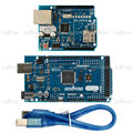 MEGA2560 Доска для Arduino Starter Kit + W5100 Щит Ethernet Lan Расширение Сетевая Плата
