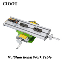 Free Shipping 6330 Bench Vise Work Table Multifunctional Manual Tools X Y Axis Adjustment Table For