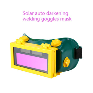 Image 5 - Solar Power Auto Darkening Welding Goggles LCD Protective Lightening Argon Arc Welding Gas Cutting Safety Glasses Eye Protection