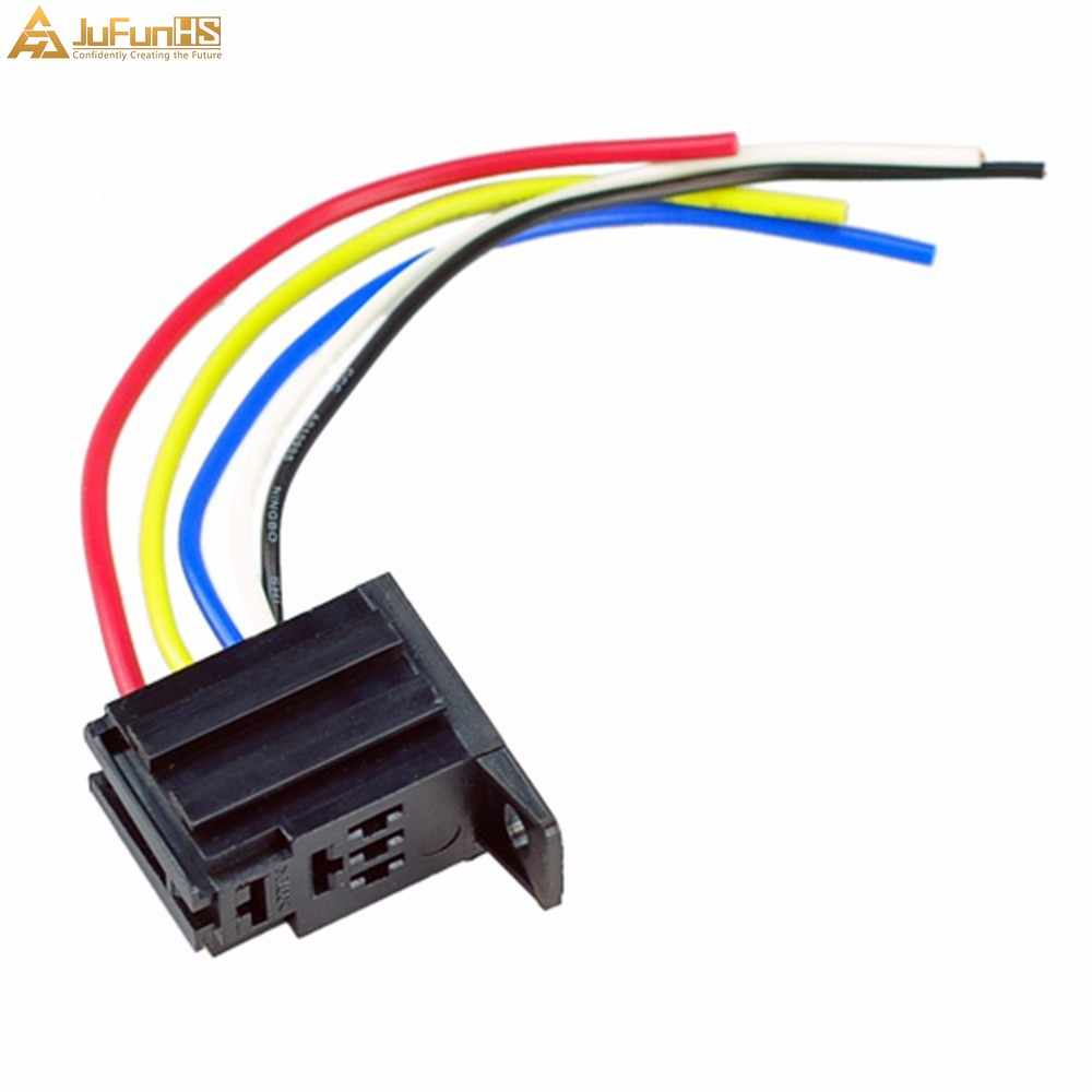 Car Fuel Pump Relay 12V 30A 5 Pin SPDT 5P for Electric Fan Fuel Pump Wiring Pin Relay on