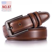 Genuine leather belt men cinturon hombre ceinture homme cinto masculino couro er