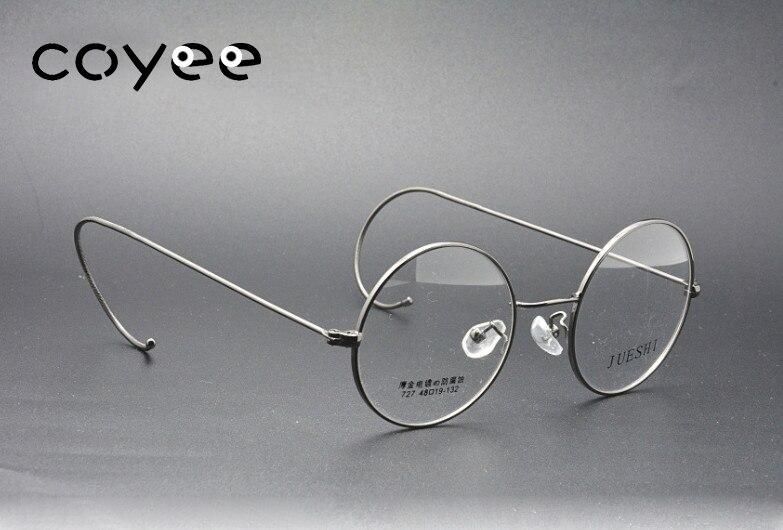 55bc146165f5 Retro Round Glasses Frames Women Men Optical Eyewear Frames Wire Rim  Vintage Eyeglasses Frames Classic Spectacles