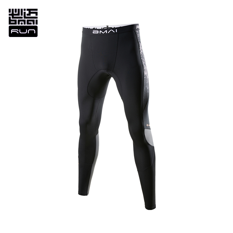 BMAI Running Pants For Men Women Sportswear Warm Winter Outdoor Fitness Sports Windproof Waterproof Trousers Pants Black#FRPC009 цены