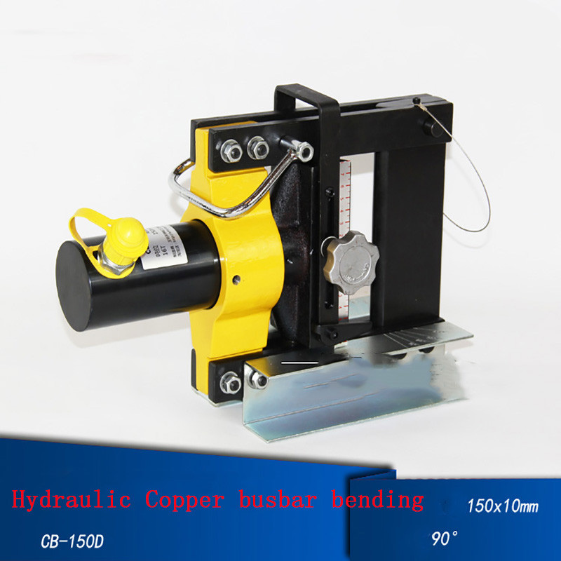 Hydraulic Pipe Benders 16T Bending Machine for Copper Busbar Bending Tool CB-150D mk cwc 150v hydraulic busbar cutter hydraulic copper busbar cutting machine with 150 10mm copper and aluminum busbar